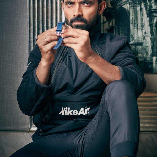 Cricket star Ajinkya Rahane from the Indian Cricket Team shot for a luxury mens magazine. Editorial