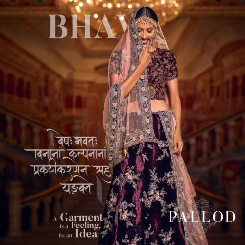 Priyanka shot for a garments campaign for Pallod Sarees
